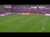 Майнц - Вольфсбург (сезон 2013-14). 1-й тайм